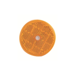 Odrazko kulaté 60mm oranžové