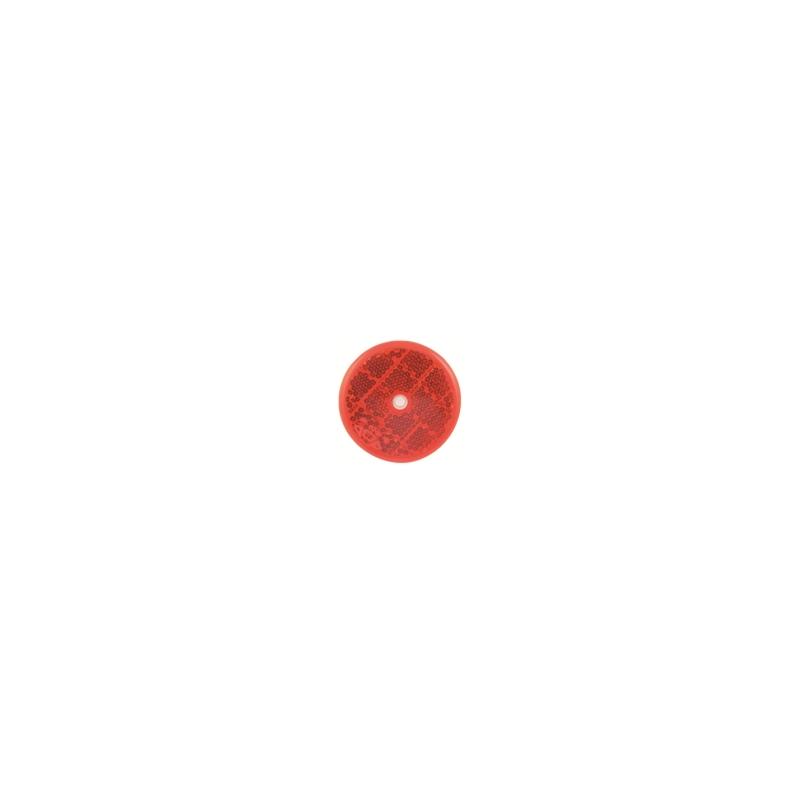 Odrazko kulaté 60mm červené