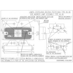 Poziční lampa W46 č.223z