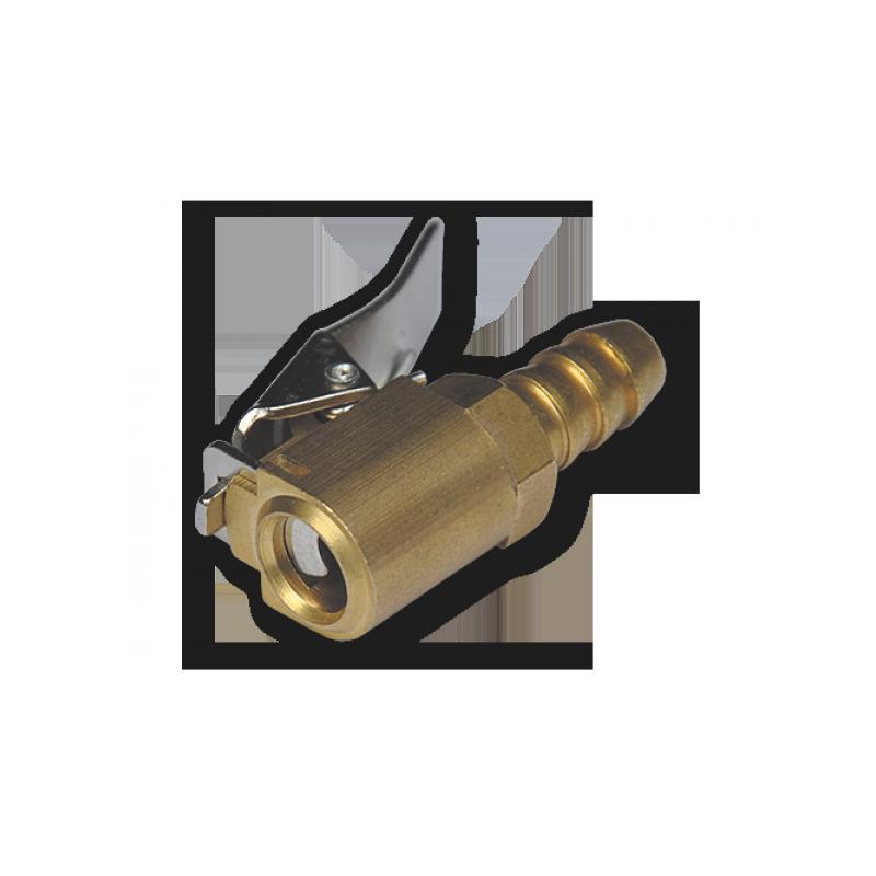 Koncovka hadice 6mm mosaz