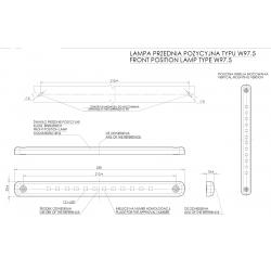 Poziční lampa W97.5 č.721