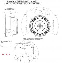 Maják LED profi W112 852.4