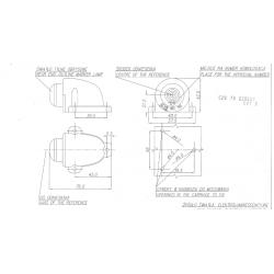 Poziční lampa W25 č.133
