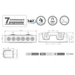 LED predátory 12-24V