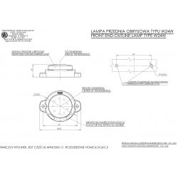 Poziční lampa W24W č.519