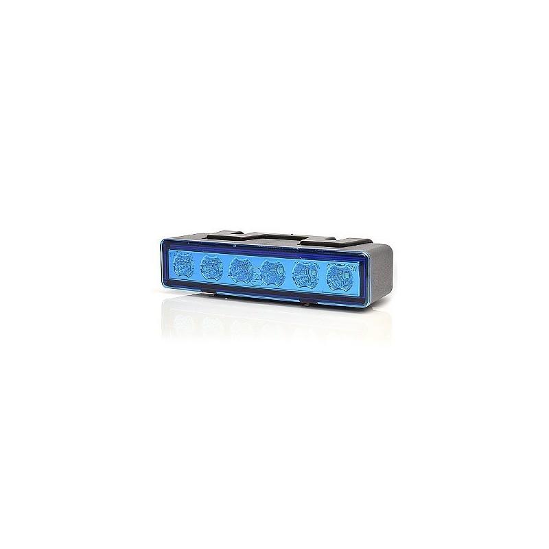 LED predátory W117 7.programů modrý