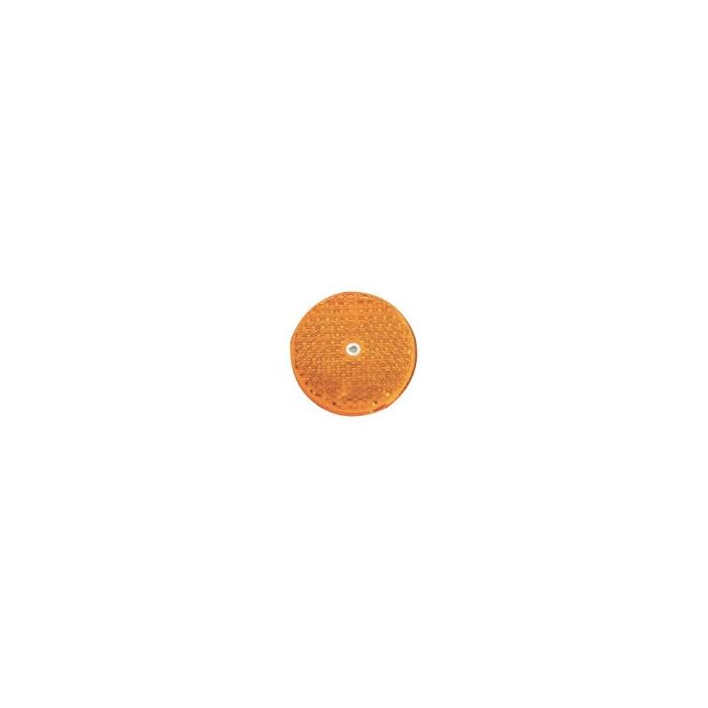 Odrazko kulaté 77mm oranžové