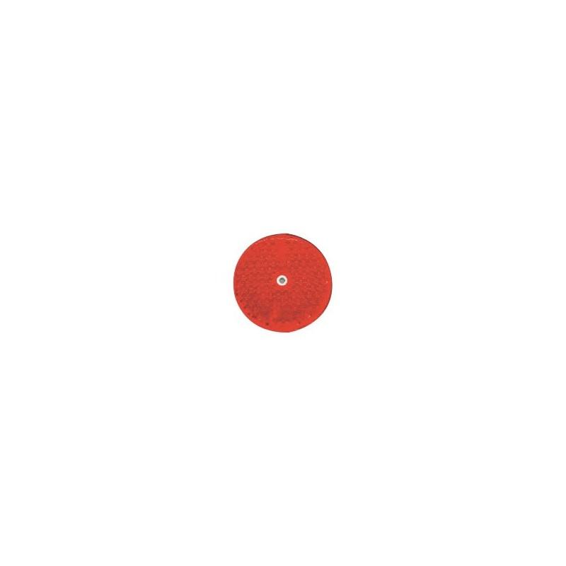 Odrazko kulaté 77mm červené
