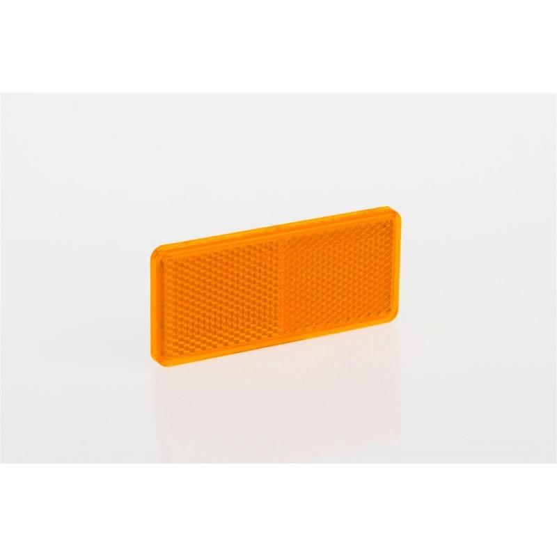 Odrazko samolepící obdélník 90x40 oranžové