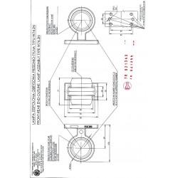 Poziční lampa W74.2 MAXI oranž/oranž