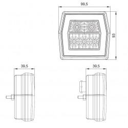 Koncová lampa FT-122
