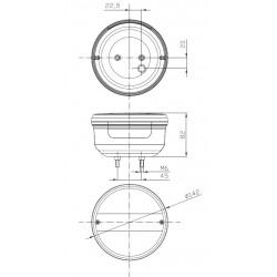 Koncová lampa FT-099