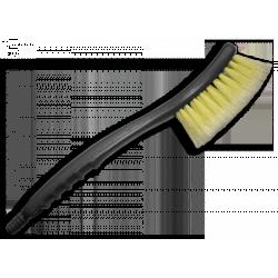 Mycí smeták žlutý hrubý