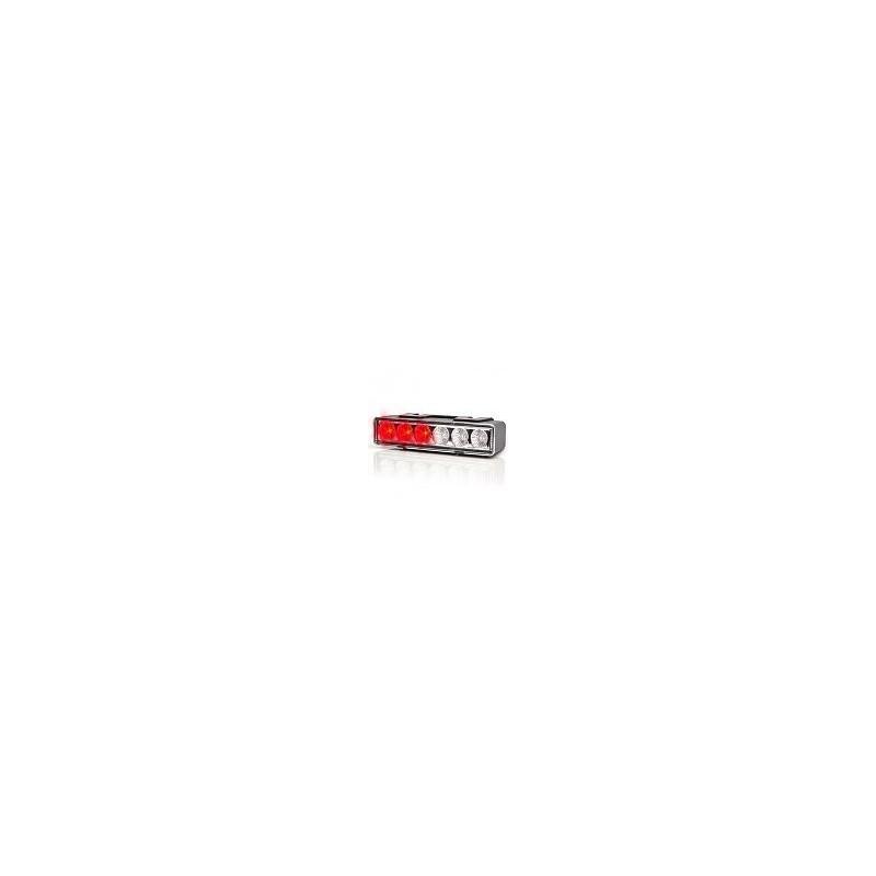 LED predátor W117 č.900.2 červený 7 programů