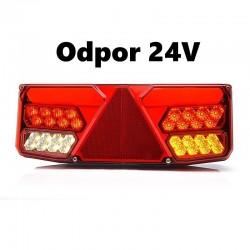 Koncová lampa W137L/1038o24 s odporem 24V