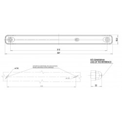 Dynamický LED blinkr W173DD č.1217