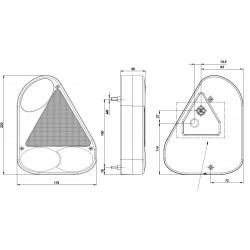 Koncová lampa FT-77 L