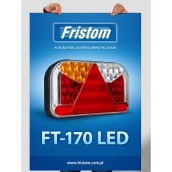 Koncové světlo LED FT-170L Mlhové bajonet 5PIN