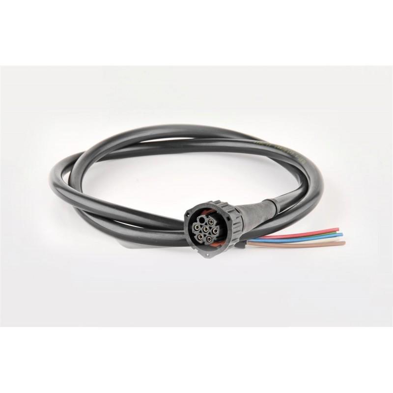 Konektor AMP 7PIN M10 + 1m kabel