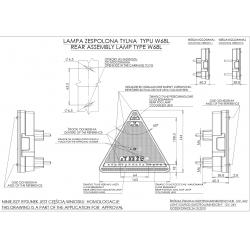 Koncová lampa W68 č.330