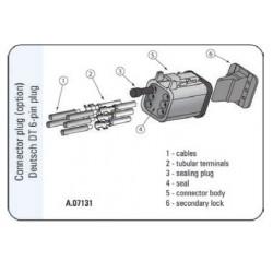 Konektor  DEUTCHE 6pin