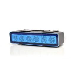 LED predátor W117 č.899.1 modrý