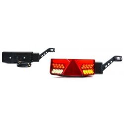 Koncové světlo LED W137P č.1040/IP68