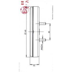 Koncová lampa W95 č.740 slim