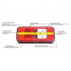 Koncové světlo LED W187/1315