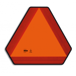 Trojúhelník pro pomalá vozidla Plech