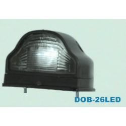 Osvětlení SPZ DOB-26L