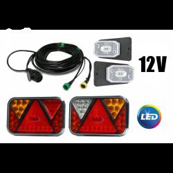 LED set 12V pro přívěsy