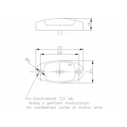 Poziční lampa FT-25B