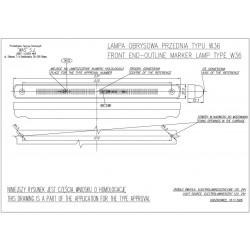 Poziční lampa W36 č180