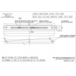 Poziční lampa W38 č184