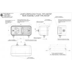 Poziční lampa W07DL č491
