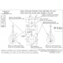 Poziční lampa W23 č125