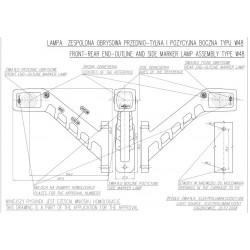 Poziční lampa W48P č.238P
