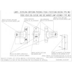 Poziční lampa W62 č.286