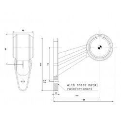 Poziční lampa FT-9C