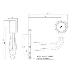 Poziční lampa FT-9F