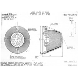 Poziční lampa WE93 č.15